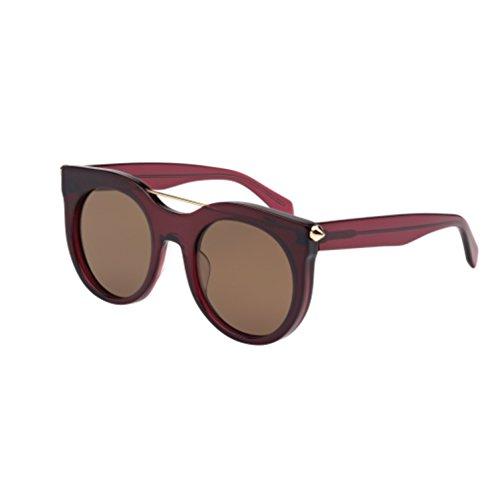 Alexander McQueen 004 Purple 0001S Cats Eyes Sunglasses Lens Category - Mcqueen Mens Sunglasses Alexander