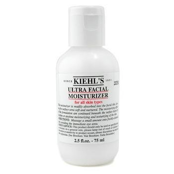 Kiehl's Ultra Facial All Skin Types Moisturizer for Unisex, 2.5 Ounce