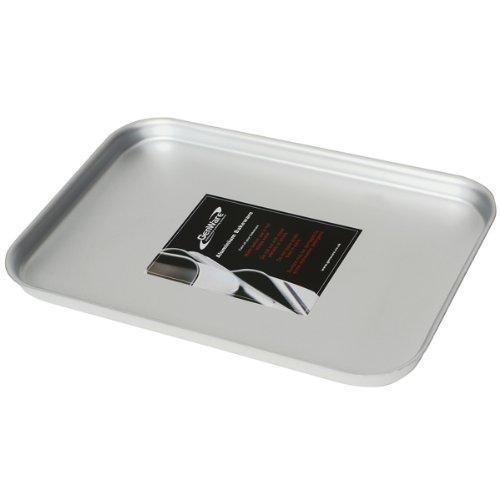 Genware lámina para el horno para horno de aluminio 37 x 26,5 x 2 ...