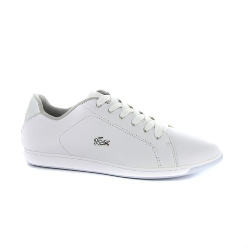 a91732e7c Lacoste Womens Carnaby Lock White Leather Trainers UK 5.5  Amazon.co.uk   Shoes   Bags