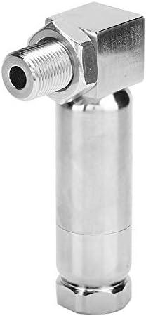 KIMISS酸素センサースペーサー、酸素センサートランスデューサー90度間隔角度エキスパンダースペーサーM18x1.5