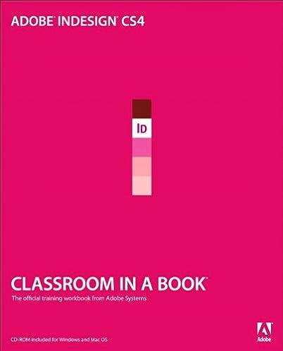 Adobe indesign training manual array amazon com adobe indesign cs4 classroom in a book ebook sandee rh amazon com fandeluxe Gallery