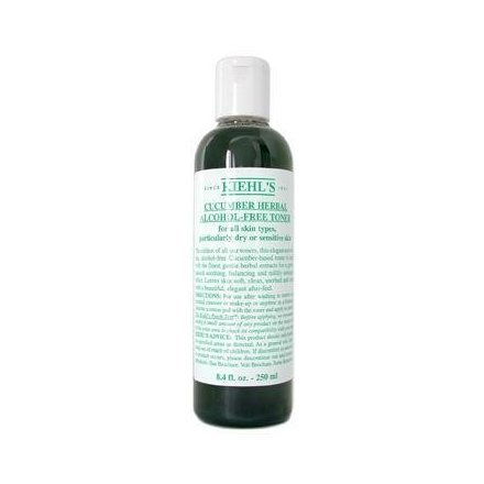 iehl's Cucumber Herbal Alcohol-Free Toner for dry skin
