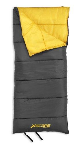 "Xscape Designs ""Solo"" – 3 Lb Rectangular Sleeping Bag, Outdoor Stuffs"
