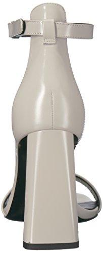 Pelle Tacco Delle Sandalo Faxon In Spiga Via Angolare Tacco Ossa Donne 05pRwTq8