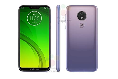 Motorola Moto G7 Power XT1955-2 64GB+4GB RAM LTE Factory Unlocked GSM 5000mAh Battery Smartphone (International Version) (Violet) ()