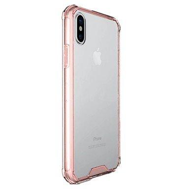 Fundas y estuches para teléfonos móviles, para el caso transparente de la contraportada de la cubierta de la caja de la contraportada del color sólido para el iphone 8 de la ( Color : Gris , Modelos C Gris