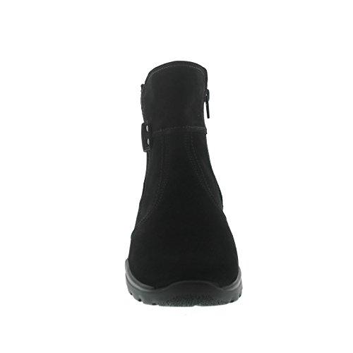 Bottes Waldläufer Bottes Waldläufer Femme Pour Pour Noir twOwq67r