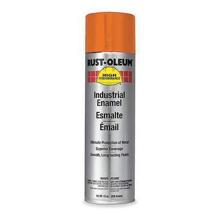 Spray Paint, Safety Orange, 15 oz.