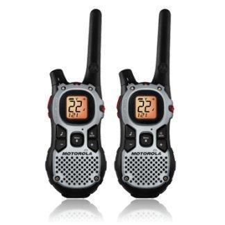 1 - 27-Mile Talkabout(R) 2-Way Radios, 27-mile range, iVOX hands-free communication, MJ270R