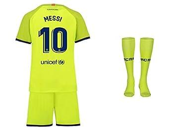 premium selection 582a1 06753 FC Barcelona Messi Trikot Kinder Auswärts 18/19 - Trikotsatz ...