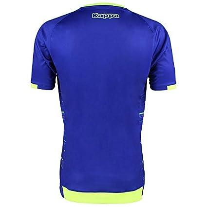 Camiseta de entrenamiento - Real Betis Balompié 2018/2019 - Kappa Aboupre 2 Jersey - Azul - Adulto: Amazon.es: Deportes y aire libre