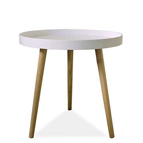 Small Round Coffee Table Size: Amazon.com: Small Round Table Sofa Bedroom Bedside Mini