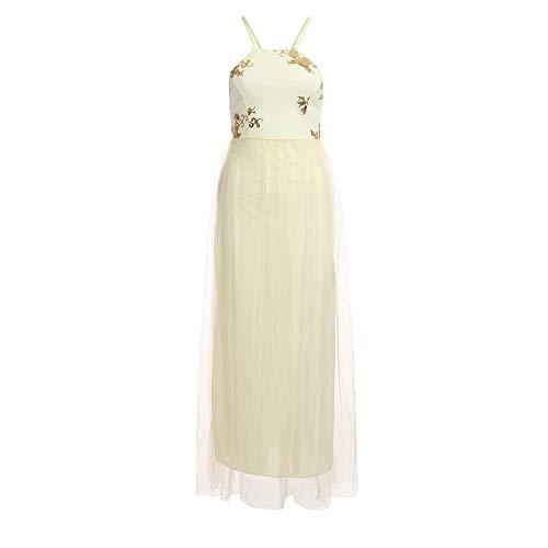 Clearance Sale£¡£¡Elevin(TM) Long Dresses Women Casual Evening Party Dress Gown Lace Chiffon Flora Long Sleeve Cocktail Dress by Elevin(TM) _ Women Formal Dress (Image #1)