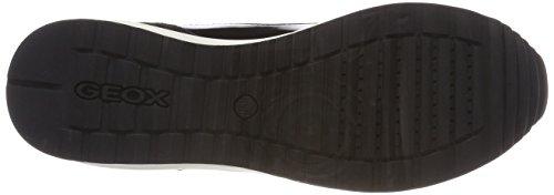 Geox Airell C, Sneakers Basses Femme Noir (Black)