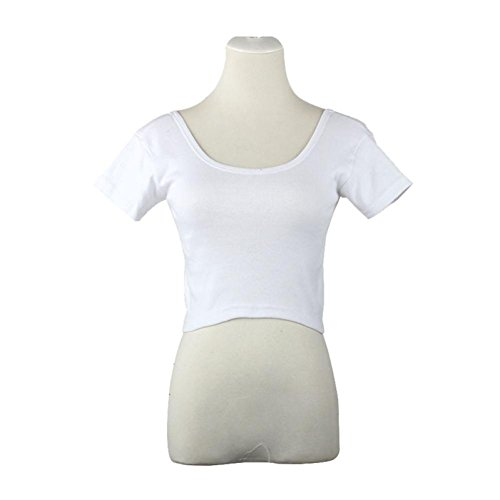 Sexy Short Tight T-shirt for Women - 9