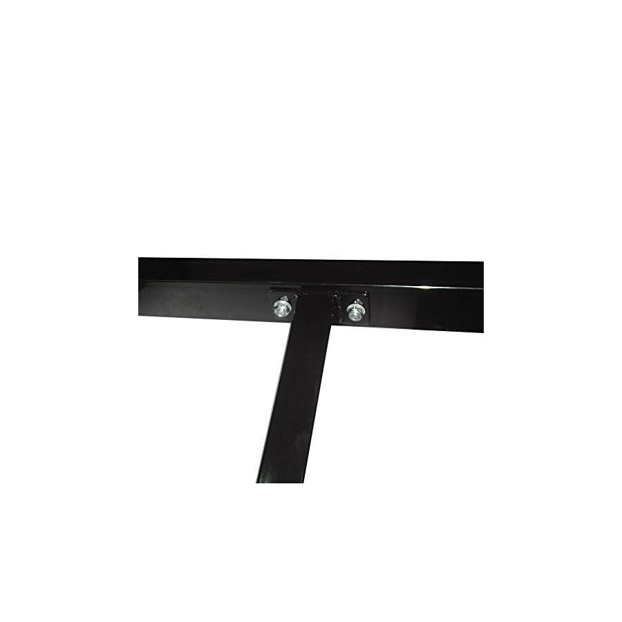 Tenive Dip Stand Freestanding Dip Bar Station Parallel Bar Bicep Triceps Home Gym Dipping Station black