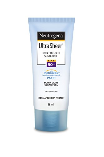 (Neutrogena Ultra Sheer Dry-Touch Water Resistant and Non-Greasy Sunscreen Lotion with Broad Spectrum SPF 55, 3 fl. oz)