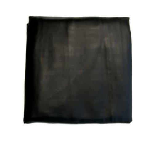 8.5 Foot Heavy Duty Pool Table Billiard Cover Black for Oversized 8 Foot Tables ()