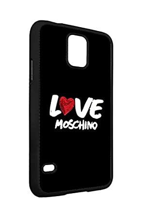 huge selection of 2d00a 0e51f Samsung Galaxy S5 Phone Case Moschino Logo Brand Logo Ultra Slim ...