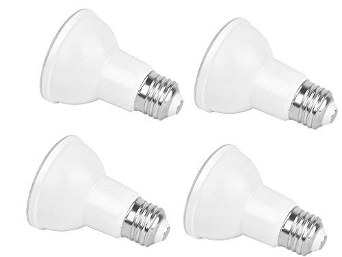 Led Par20 Flood - 4-Pack PAR20 Dimmable LED Bulb,7W (50W equivalent),5000K (Daylight White) Flood Light Bulb,40° Beam Angle,Medium Base (E26), 550LUMENS,UL-listed and Energy Star Approved