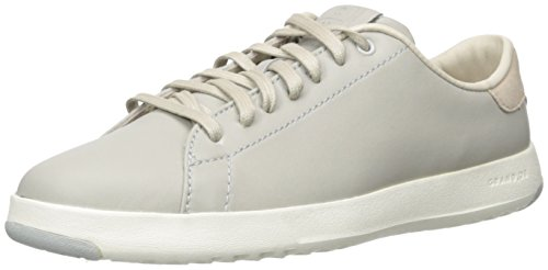 Cole Haan Women's Grandpro Tennis Fashion Sneaker, Silverfox, 6 B US