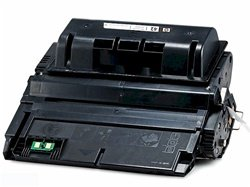 HP Q5942A (HP 42A) Black Toner Cartridge compatible with the HP LaserJet 4250/ 4350. Yield 10000 Pages (42a Laserjet)
