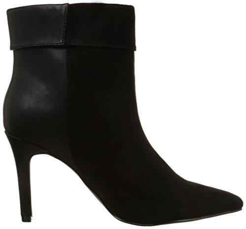 PIECES Psvalerie Boot Black Noos - Botas altas de material sintético mujer negro - negro