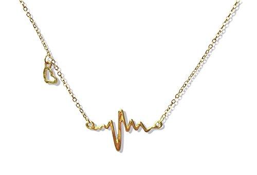Suyi Plated Titanium Heart shaped Necklace