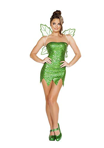 Mischievous Fairy Costume, Sexy Green Fairy Costume