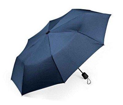 BMW Genuine Semi-Automatic Opening Umbrella Diameter: Approx 37.5 Dark Blue