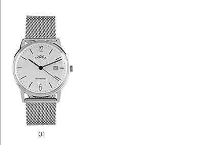 Capital Reloj Cargador Automático fondo a vista código at547 ...