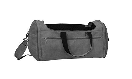 David King & Co. Extra Large Multi Pocket Duffel, Distressed ()