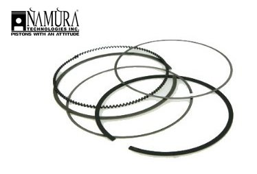 New Honda Oem Piston Ring (1999-2006 Honda TRX 350 Rancher ATV Engine Piston Ring Kit [Bore Size (mm): 78.46 (Stock)])