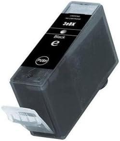 Myriad Compatible Inkjet Cartridges 16 Inkjet Cartridges Bulk: CBCI3EBK Replacement for Canon BCI-3eBK; Models: BJC 6000; Black Ink