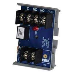 ALTRONIX RBUL Relay Module - 12VDC or 24VDC operation, 30mA current draw, SPDT contact amp/28VDC, Includes Snap Track, UL Listed Burglary (U