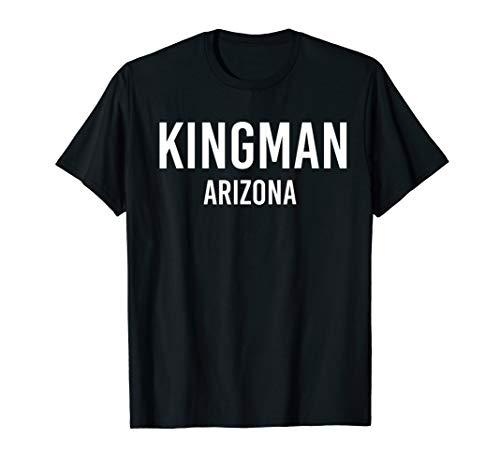 KINGMAN ARIZONA AZ USA Patriotic Vintage Sports - T-shirt Vintage Az