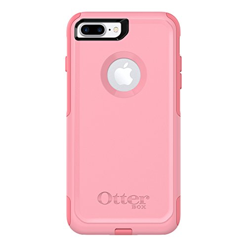 OtterBox Commuter Series Case for iPhone 8 Plus & iPhone 7 Plus (ONLY) – Frustration Free Packaging – Rosmarine Way (Rosmarine/Pipeline Pink)