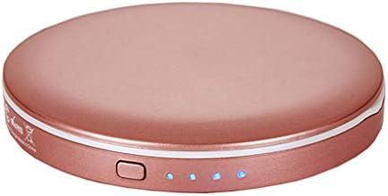 LEDポータブル化粧ランプフィル光フィッティングミラーを折り畳み、充電 JZ02/25 (Color : Pink)