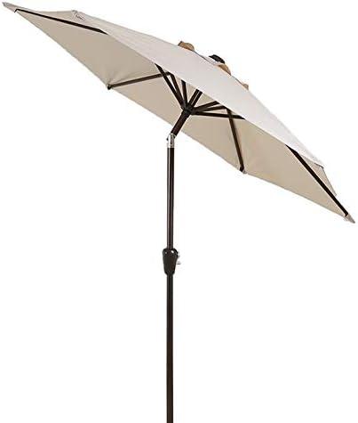 ZAQI Parasol Jardin Sombrillas Terraza Playa Sombrilla de Playa de 9 pies, Sombrilla de jardín con Mecanismo de inclinación, Toldo de Sombra Impermeable Grande (Color : Beige): Amazon.es: Hogar