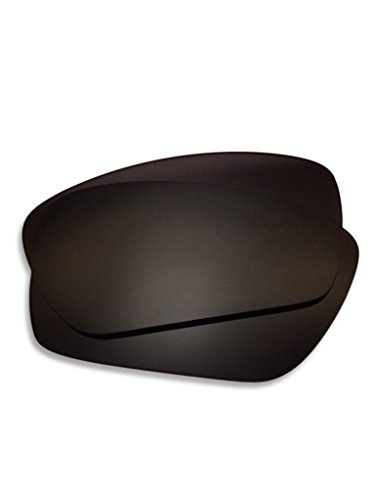 Lens Swap Dark Black Oakley Fuel Cell Lenses Polarized Great Quality & FITS Perfectly. Oakley Fuel Cell Replacement Lenses ()