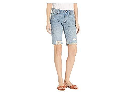 Free People Women's Caroline Cutoff Shorts, Washed Denim, Blue, 28