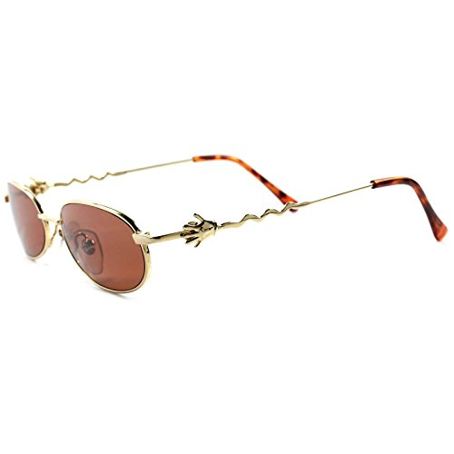 Vintage Old Deadstock Funky Funny Mens Womens Round Oval - Deadstock Sunglasses