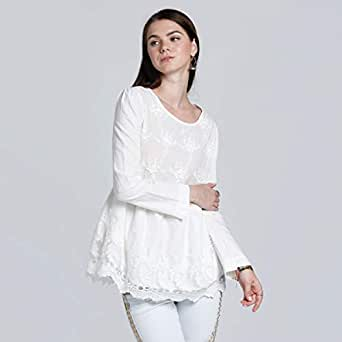 2Xtremz Blouse for Women, White