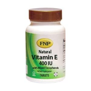 Freeda FNP Vitamin E 400 IU with Mixed Tocopherols – 90 Tablets