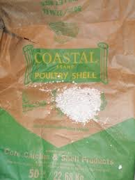 Oyster Shell (Crushed) 15lb. Bag by Coastal
