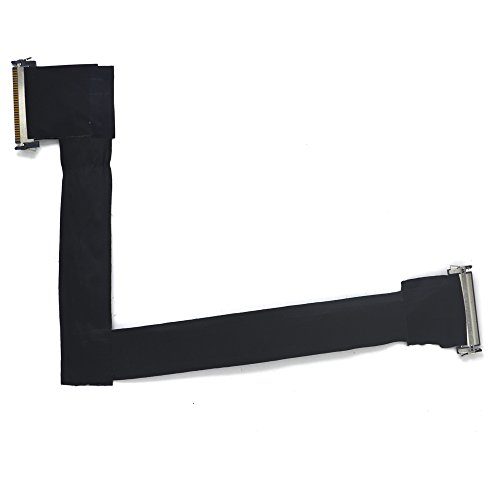 (Padarsey New LCD Video VGA LVDS Screen Display Flex Cable 593-1281 593-1028 Compatible for iMac 27 A1312 Late 2009 Mid)