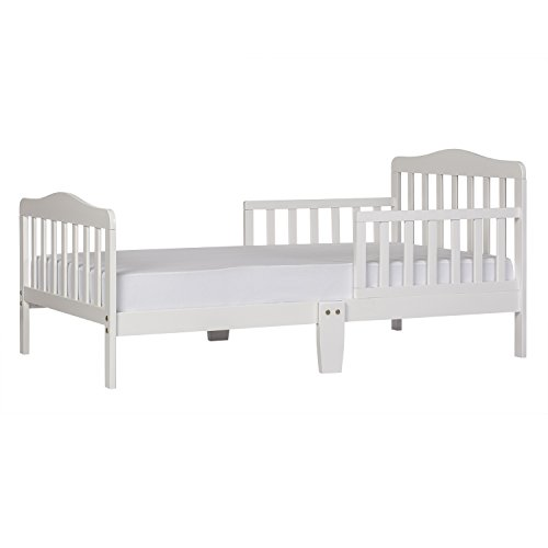 Classic Design Toddler Bed, White
