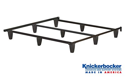 - Knickerbocker Patriot Bed Frame - King Size - Made in The USA - Strongest Bed Frame - Steel - No Tools