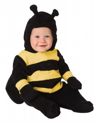 Baby Bumble Bee Costume - Toddler - (Baby Bee Bunting Costumes)
